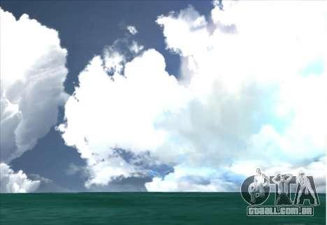 SkyBox and Lensflare para GTA San Andreas terceira tela