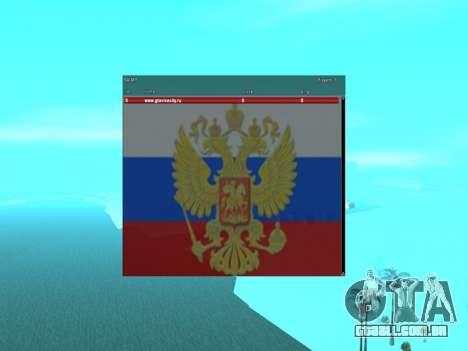 SampGui Bandeira da Rússia com brasão de armas para GTA San Andreas