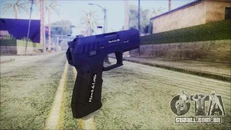 GTA 5 Combat Pistol v2 - Misterix 4 Weapons para GTA San Andreas segunda tela