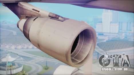 McDonnell-Douglas MD-11 Japan Airlines para GTA San Andreas vista direita