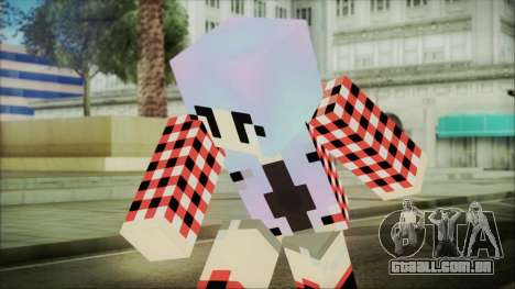 Minecraft Female Skin Edited para GTA San Andreas