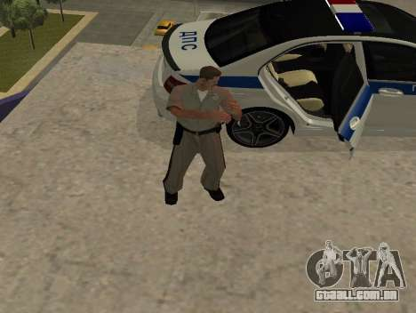 New Animations para GTA San Andreas terceira tela