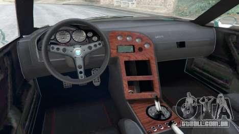 GTA 5 Grotti Cheetah Classic traseira direita vista lateral