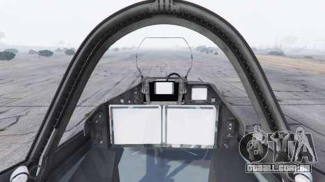 GTA 5 T-50 PAK FA v0.02 quinta imagem de tela