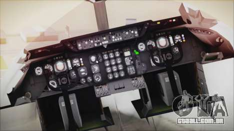 McDonnell-Douglas DC-10-30F World Airways para GTA San Andreas vista traseira