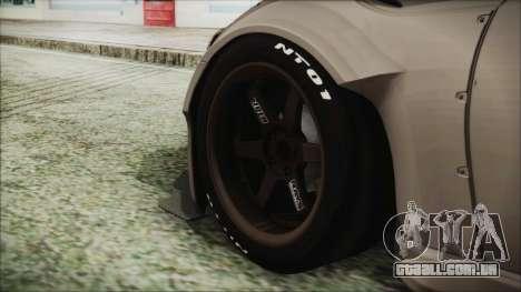 Toyota GT86 Rocket Bunny Tunable IVF para GTA San Andreas traseira esquerda vista