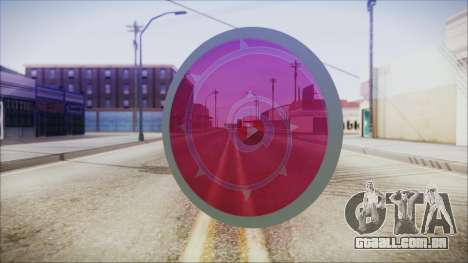 Steven Shield from Steven Universe para GTA San Andreas segunda tela