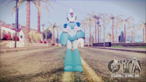 Marvel vs Capcom 3 Megaman para GTA San Andreas segunda tela