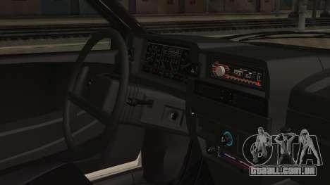 2109 Escoamento para GTA San Andreas vista direita