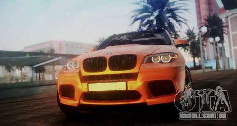 BMW X5M SMOTRA.GT para GTA San Andreas traseira esquerda vista