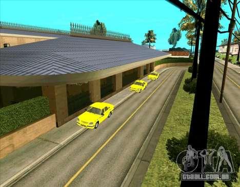 Veículos estacionados para GTA San Andreas segunda tela