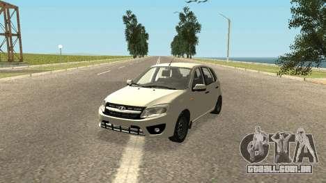 Lada Kalina 2 - Granta para GTA San Andreas