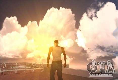SkyBox and Lensflare para GTA San Andreas