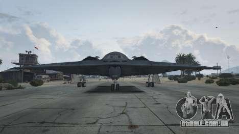 GTA 5 B-2A Spirit Stealth Bomber segundo screenshot