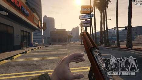 GTA 5 .30 Cal M1 Carbine Rifle quinta imagem de tela