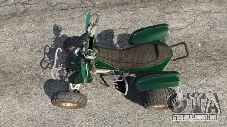 GTA 5 PURE Quad voltar vista