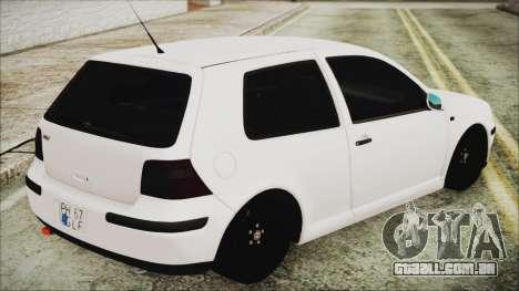 Volkswagen Golf 4 Romanian Edition para GTA San Andreas esquerda vista
