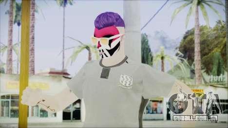 GTA Online Skin 1 para GTA San Andreas