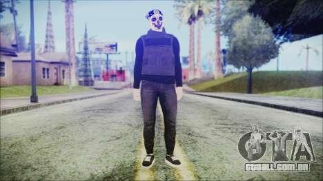 GTA Online Skin 59 para GTA San Andreas segunda tela
