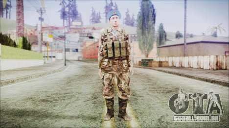 World In Conflict Malashenko para GTA San Andreas segunda tela
