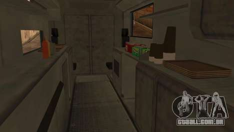 Sate Ayam (Chicken Satay) Van para GTA San Andreas vista direita