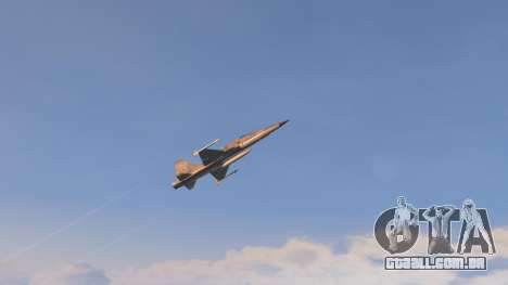 GTA 5 Northrop F-5E Tiger II USA nono screenshot