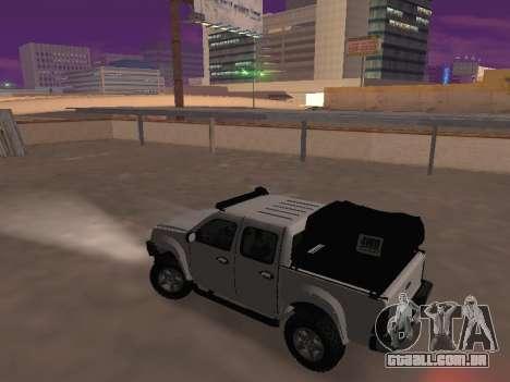 Chevrolet LUV D-MAX 2014 OffRoad (IVF) para GTA San Andreas esquerda vista