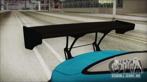 BMW M4 2014 Liberty Walk para GTA San Andreas vista traseira