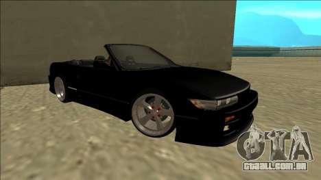 Nissan Silvia S13 para GTA San Andreas vista direita