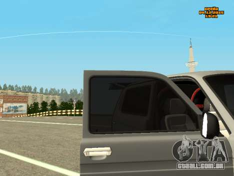 VAZ 2123 Niva auto Som para GTA San Andreas vista direita