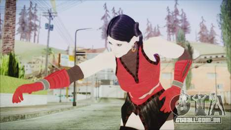 Tekken Tag Tournament 2 Zafina Dress v1 para GTA San Andreas