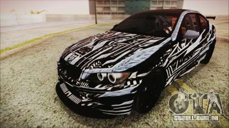 BMW M3 GTS 2011 IVF para as rodas de GTA San Andreas
