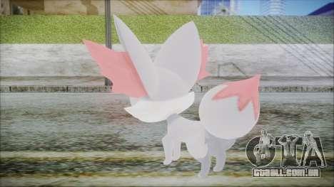 Fennekin Shiny (Pokemon XY) para GTA San Andreas terceira tela