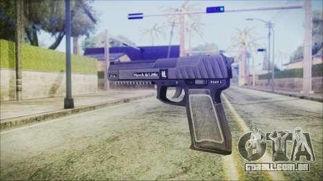 GTA 5 Pistol .50 v2 - Misterix 4 Weapons para GTA San Andreas segunda tela