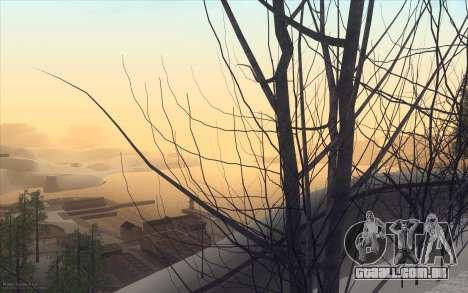 Winter Vacation 2.0 SA-MP Edition para GTA San Andreas quinto tela