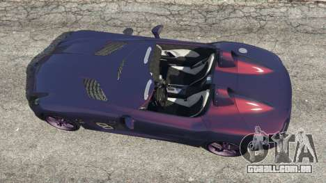 GTA 5 Mercedes-Benz SLR McLaren Stirling Moss voltar vista