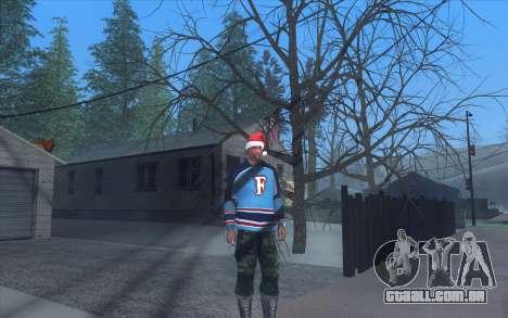 Winter Vacation 2.0 SA-MP Edition para GTA San Andreas por diante tela
