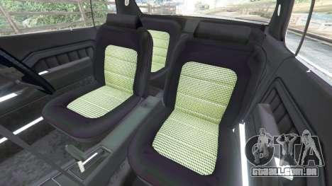GTA 5 Holden Monaro GTS vista lateral direita