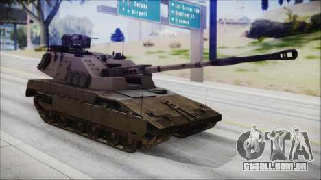 M4 Scorcher Self Propelled Artillery para GTA San Andreas