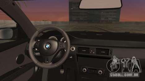 BMW M3 GTS 2011 IVF para GTA San Andreas vista direita