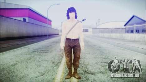 Rambo para GTA San Andreas segunda tela