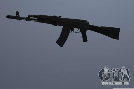 AK-74M para GTA San Andreas terceira tela