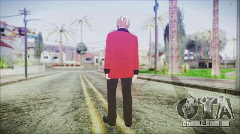Skin DLC Executive Xmas para GTA San Andreas terceira tela