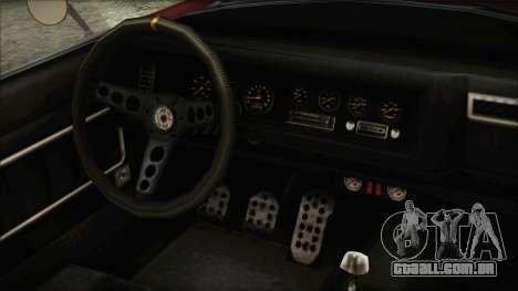 GTA 5 Declasse Mamba IVF para GTA San Andreas vista direita