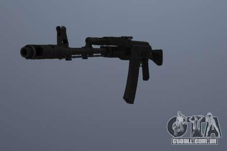 AK-74M para GTA San Andreas segunda tela
