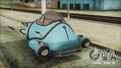 Fallout 4 Fusion Flea para GTA San Andreas vista direita