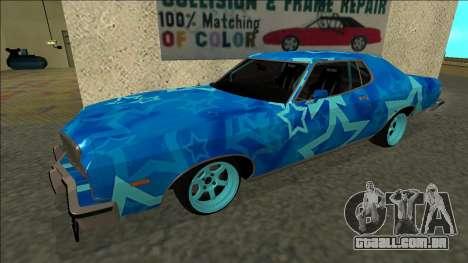 Ford Gran Torino Drift Blue Star para GTA San Andreas