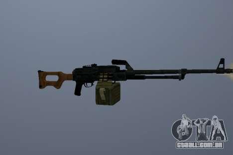 A Metralhadora Kalashnikov para GTA San Andreas
