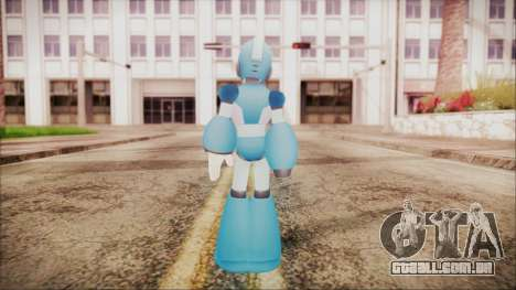 Marvel vs Capcom 3 Megaman para GTA San Andreas terceira tela