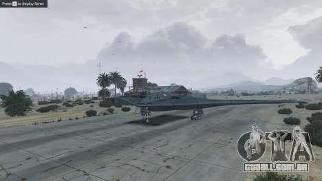 GTA 5 B-2A Spirit Stealth Bomber nono screenshot